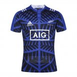 Maillot Nouvelle-Zelande All Blacks Rugby Bleu