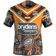 WH Maillot Wests Tigers Rugby 2019 Indigene
