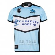Maillot Cronulla Sutherland Sharks Rugby 2019 Domicile
