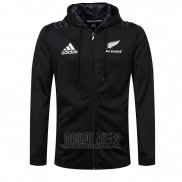 Nouvelle-Zelande All Blacks Rugby 2018-19 Veste A Capuche