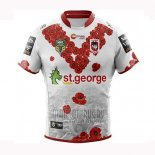 Maillot St George Illawarra Dragons Rugby 2018-19 Commemorative