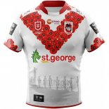 Maillot St George Illawarra Dragons Rugby 2019 Commemorative
