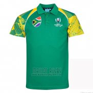Maillot Polo Afrique du Sud Rugby RWC2019
