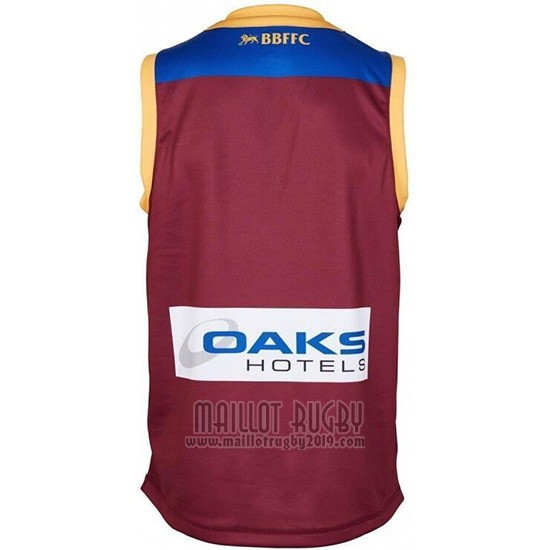 Maillot Brisbane Lions Afl 2019 Marron