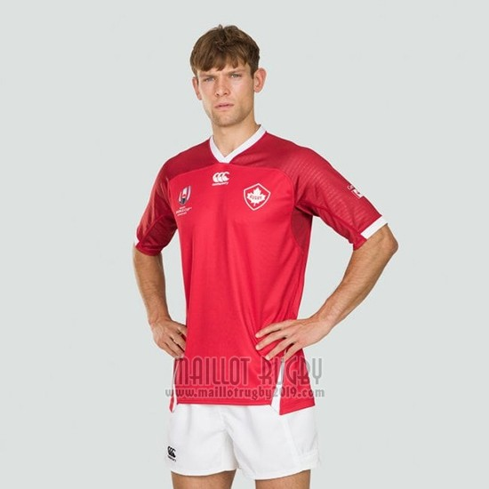 Maillot Canada Rugby RWC2019 Domicile