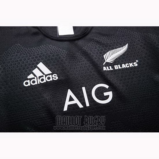 Maillot Nouvelle-Zelande All Blacks Rugby 2019-2020 Domicile