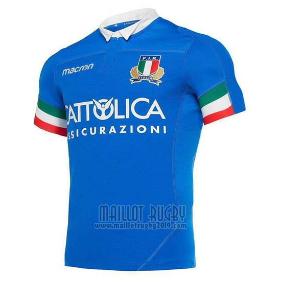 Maillot Italie Rugby 2019-2020 Domicile
